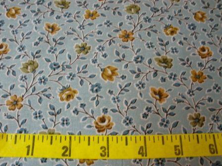 Garden Maze Blue Large Floral